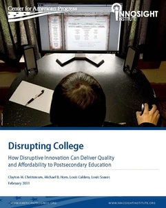 Disrupting College Report by Christensen et al